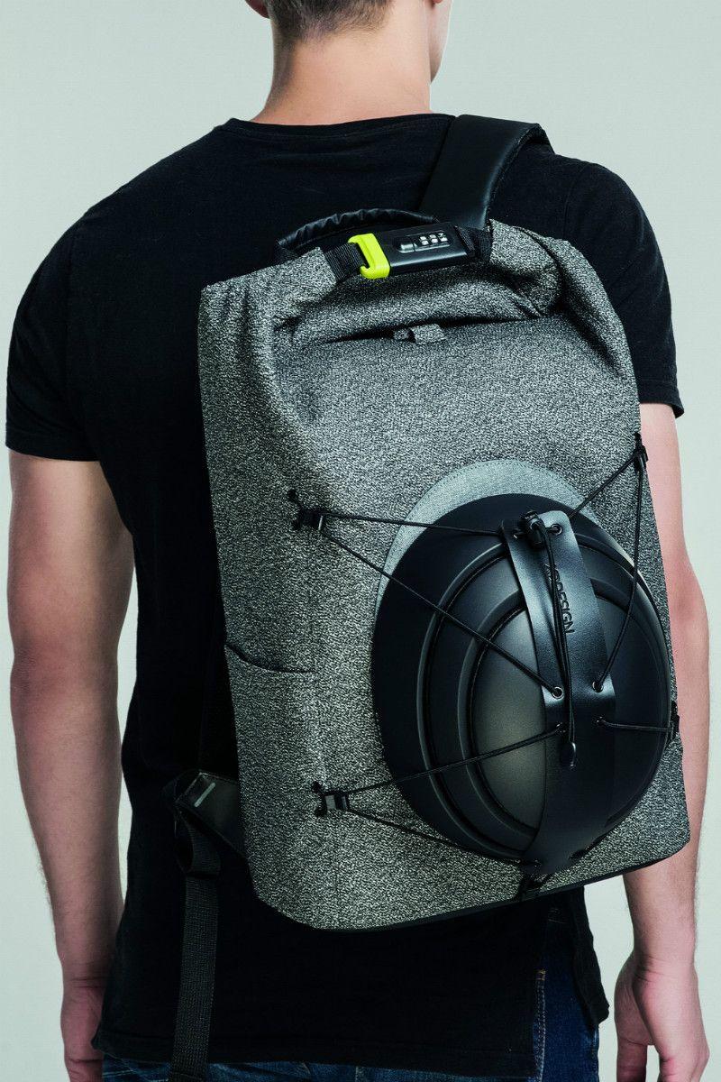 2a03889d895 Bobby Urban Snijbestendige anti diefstal rugzak van XD Design. Stoere  grijze anti diefstal rugzak met
