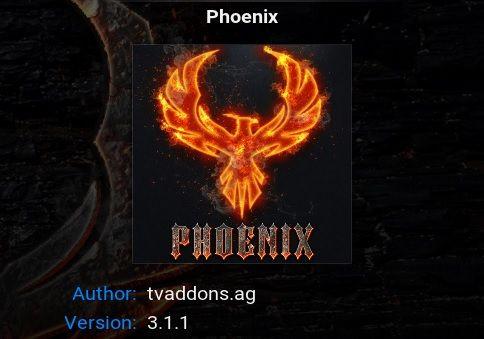 adding phoenix to kodi