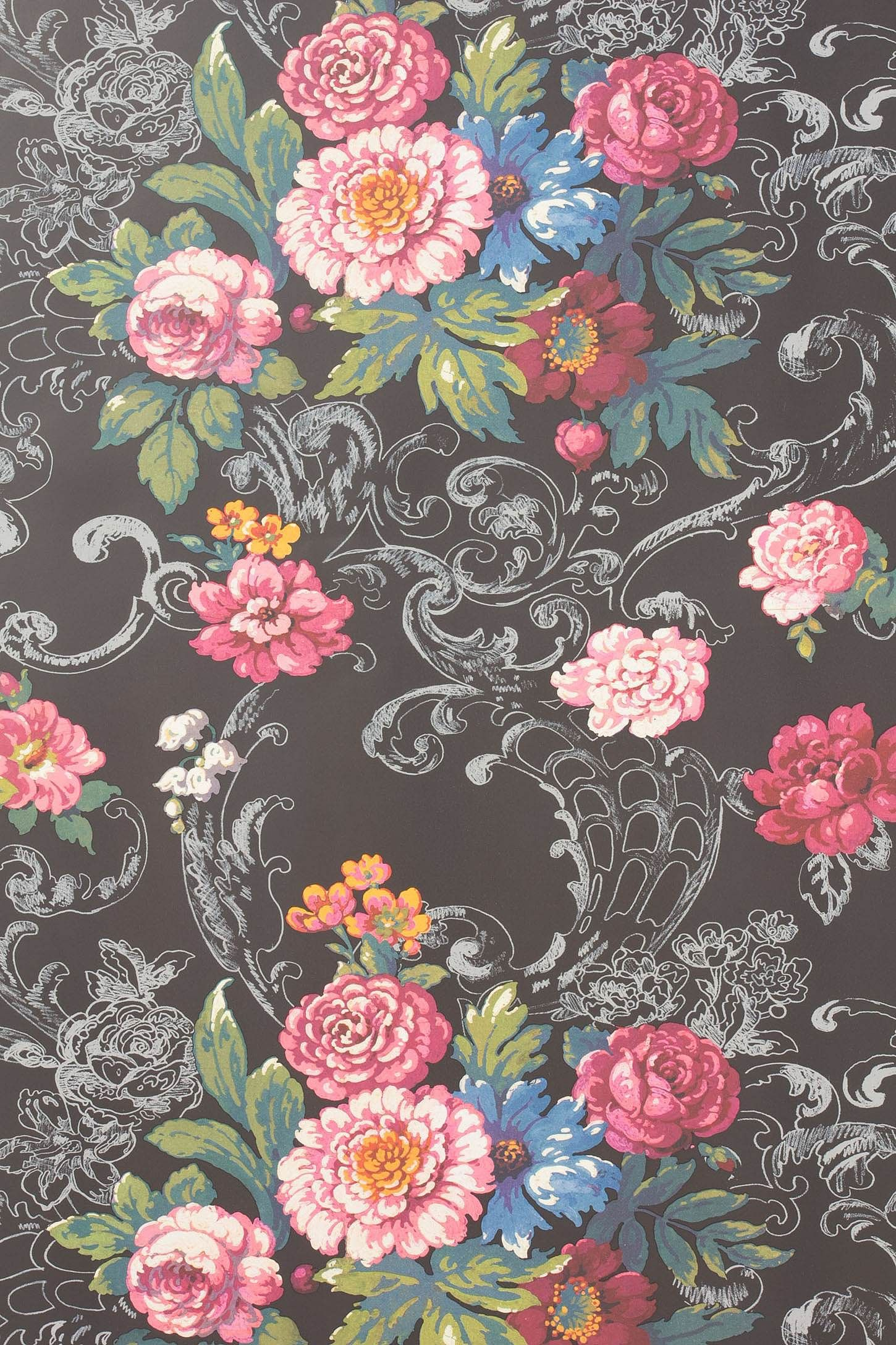 bouquet wallpaper by york wallcoverings