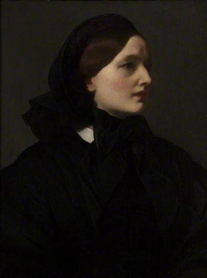 Mrs Sutherland Orr (1828–1903) by Fredric Leighton Frederic Leighton, 1st Baron Leighton PRA (3 December 1830 – 25 January 1896), known as Sir Frederic Leighton between 1878 and 1896, was an English painter and sculptor. His works depicted historical, biblical and classical subject matter. Leighton was bearer of the shortest-lived peerage in history; after only one day his hereditary peerage ended with his death