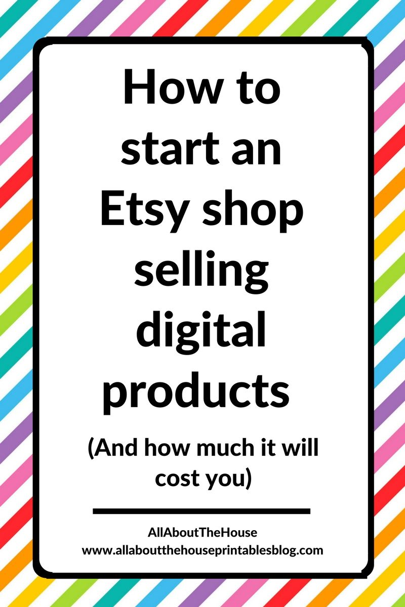 picture regarding Etsy Printable titled How in direction of start off an Etsy retail store advertising and marketing electronic products and solutions (and how