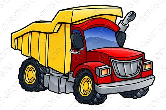 Dump Truck Tipper Cartoon Dump Trucks Tipper Truck Monster