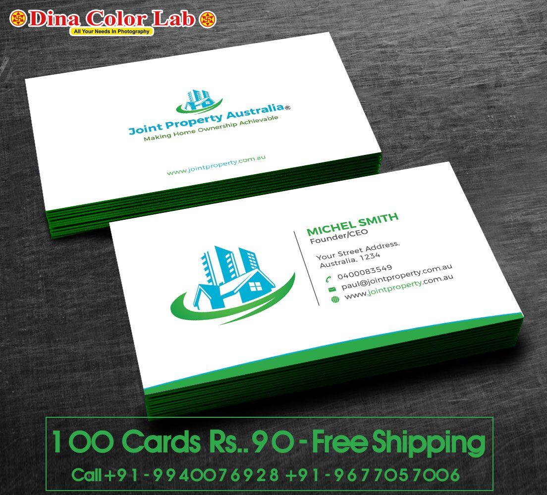 100 Business Cards At 90 Free Shipping Visiting Card Printing Linen Business Cards Card Printer