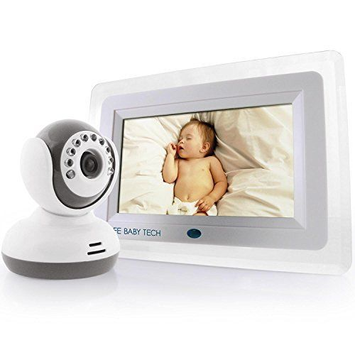 Best Video Baby Monitor 7 Color Lcd Screen 2017 Edition Designer Style Feature Rich Premium High End Digita Video Monitor Baby Baby Tech Baby Monitor