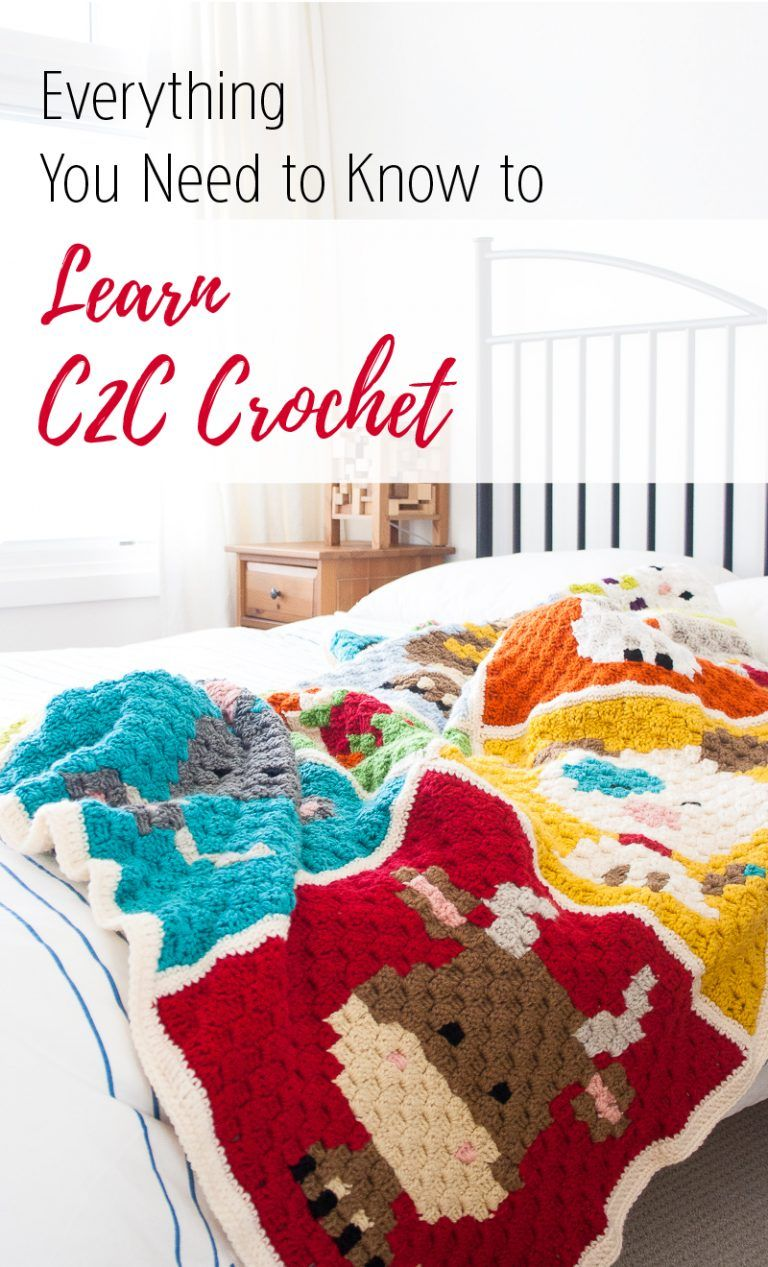 Learn C2C Crochet: Everything You Need to Know   Pinterest   Häkeln ...