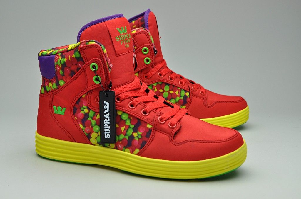 Skittles High Tops Supra X Lil Wayne This Ones For You
