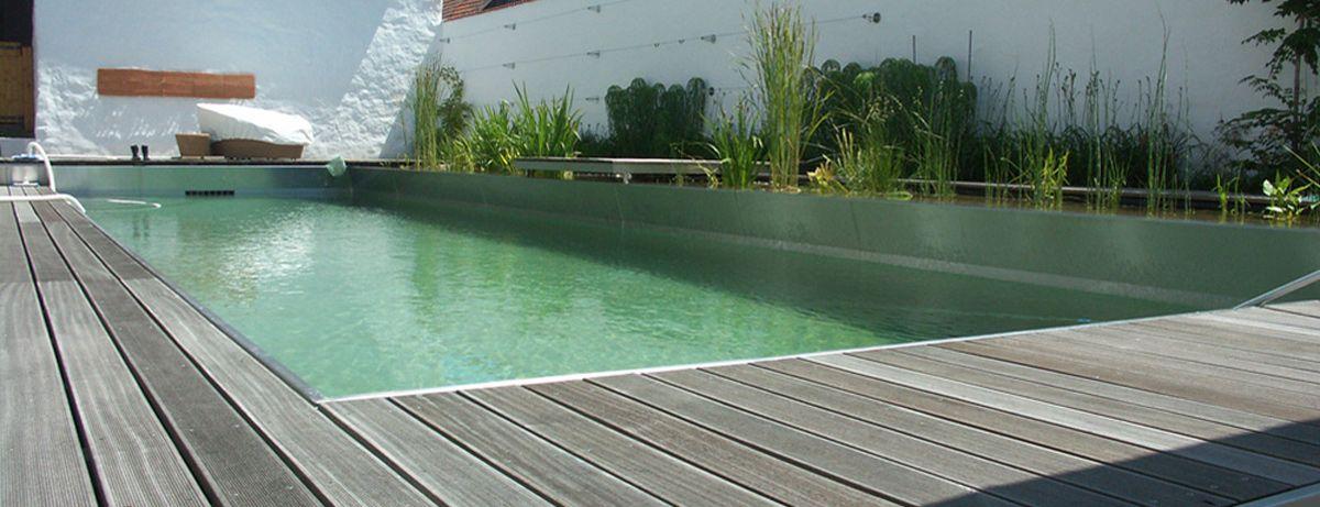 Naturpool pool for nature stylondo naturpools und for Garten pool wanne