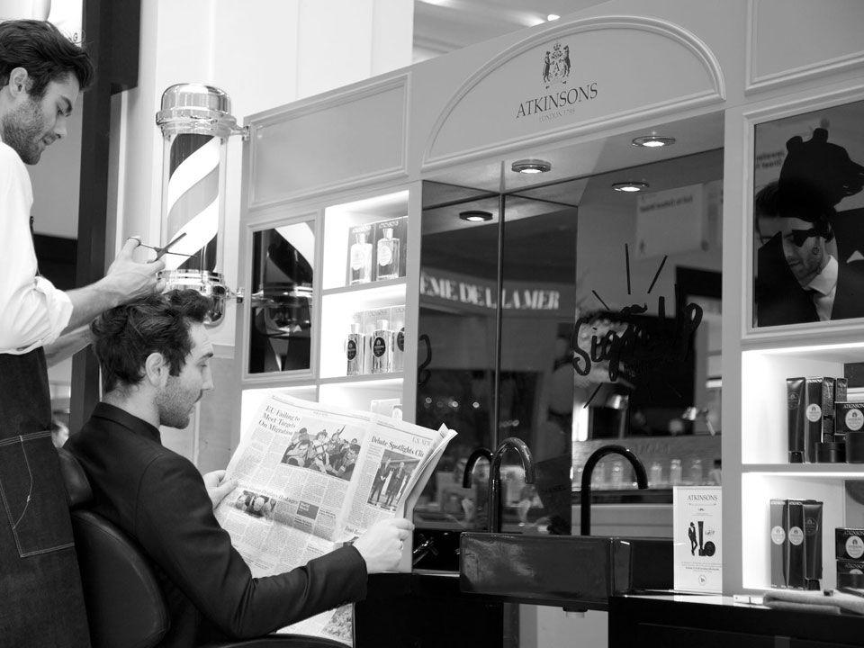 Atkinsons #barbershop