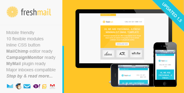 Freshmail Responsive Email With Template Editor  Responsive