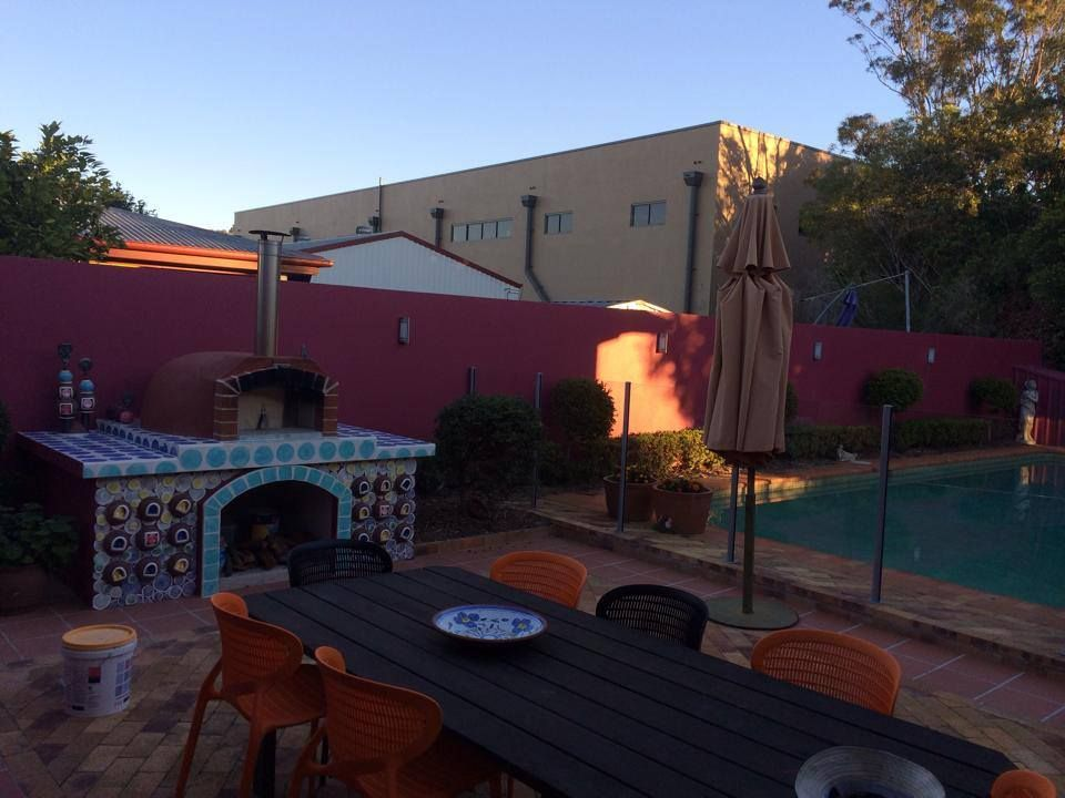 alfresco kitchens woodfired pizza ovens qld allfresco woodfired pizza oven alfresco on outdoor kitchen queensland id=94481