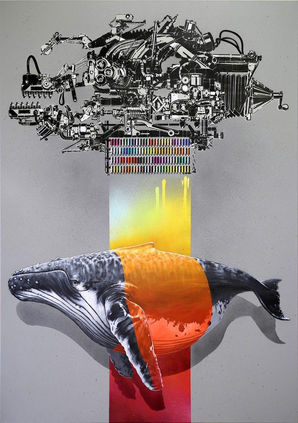 Eco Street Murals By NEVERCREW Duo