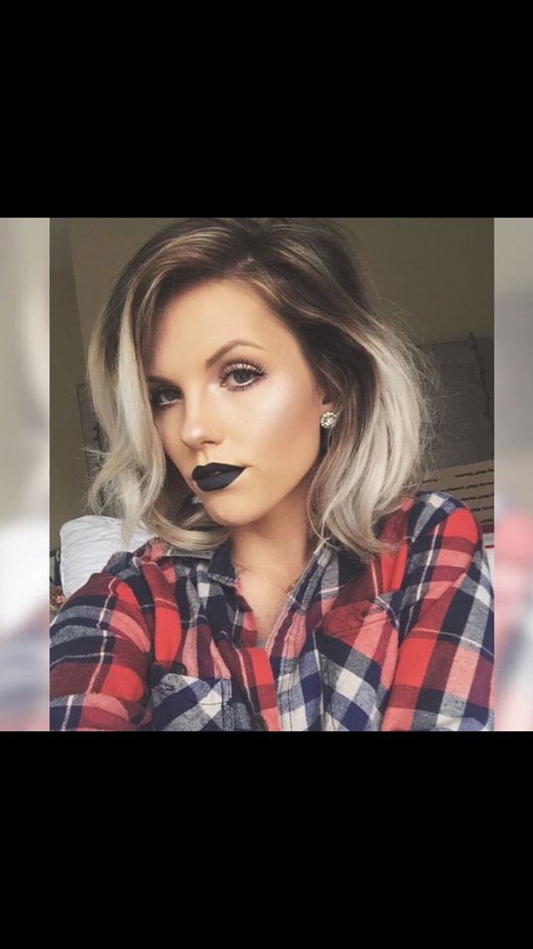 Shadow roots hair pinterest roots makeup and hair coloring