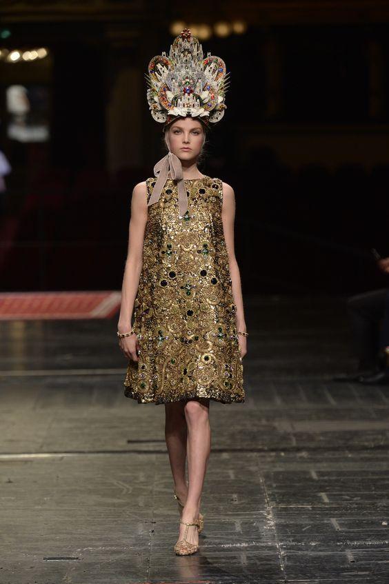Dolce & Gabbana Alta Moda Haute couture Spring/Summer 2016