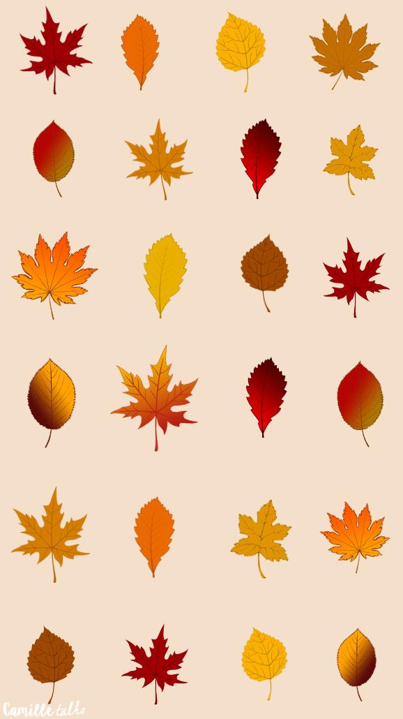 Un fond d'écran d'automne pour votre téléphone   Phone
