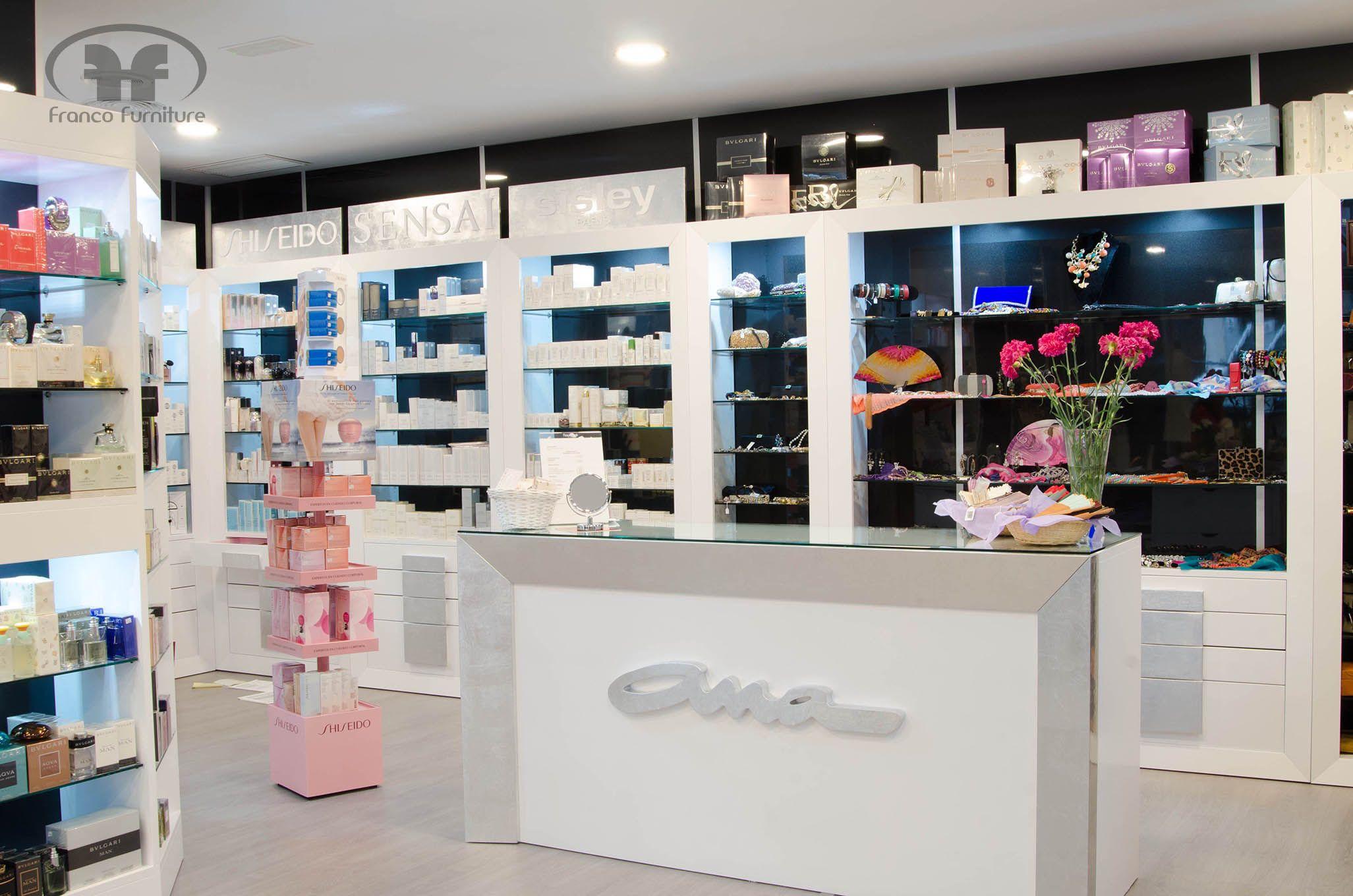 Perfumeria Ana Lucena Proyectoscontract Muebles Furniture  # Muebles Ceballos