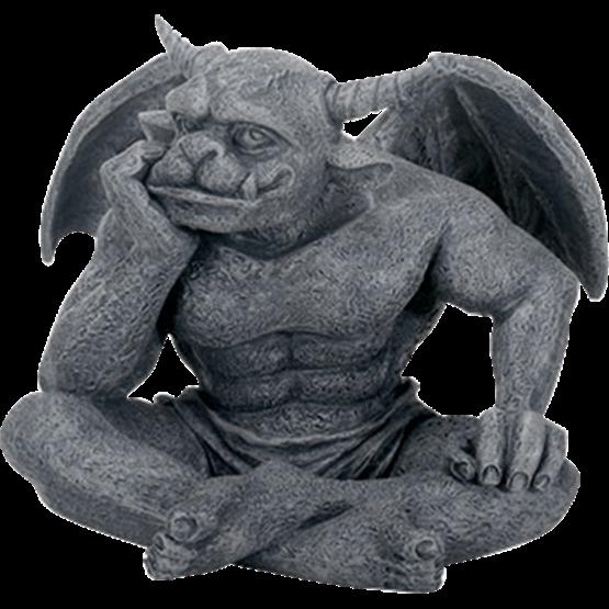 Gargoyle Dreamer Statue Sc9205 By Medieval Collectibles Gargoyles Gothic Gargoyles Statue