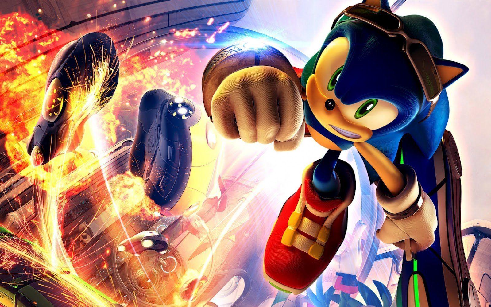 Happy Birthday Sonic The Hedgehog The House Next Door Slant Sonic The Hedgehog Gaming Wallpapers Sonic