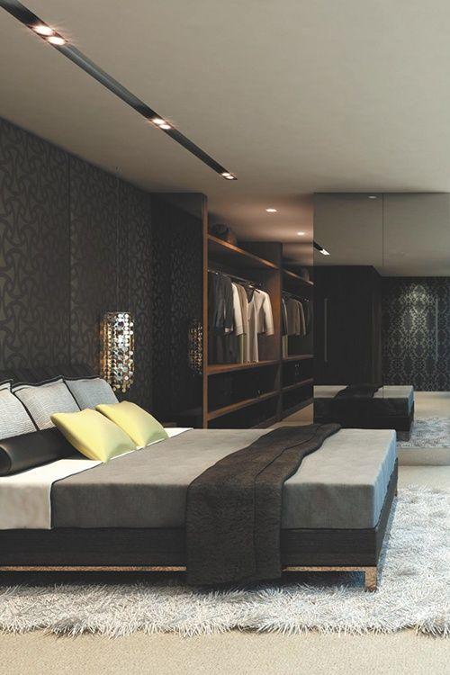 34 Stylish Masculine Bedrooms Luxury Bedroom Master Masculine