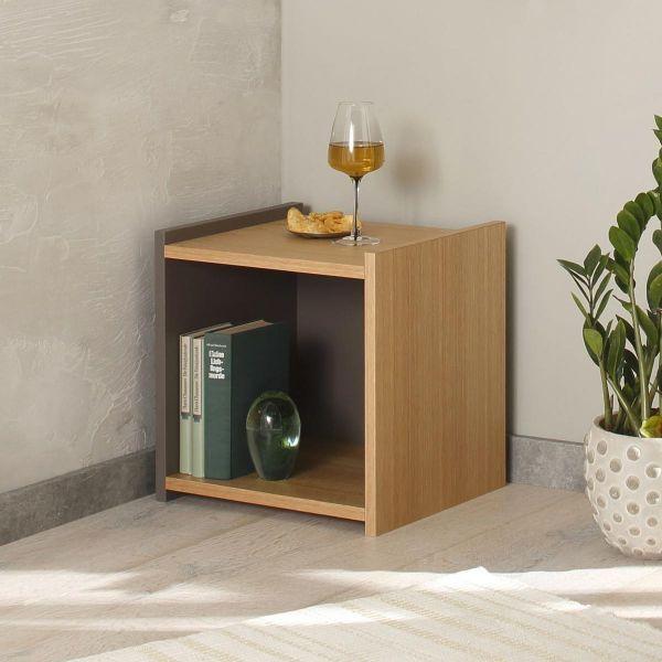 Steck Würfel Regal Würfel Element Detail Design Möbel Eiche