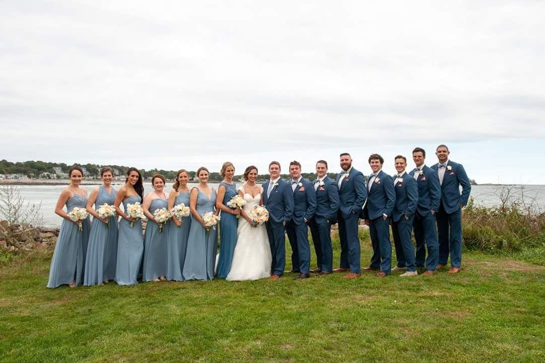 f2b2a70b1f1 Azazie dusty blue bridesmaids