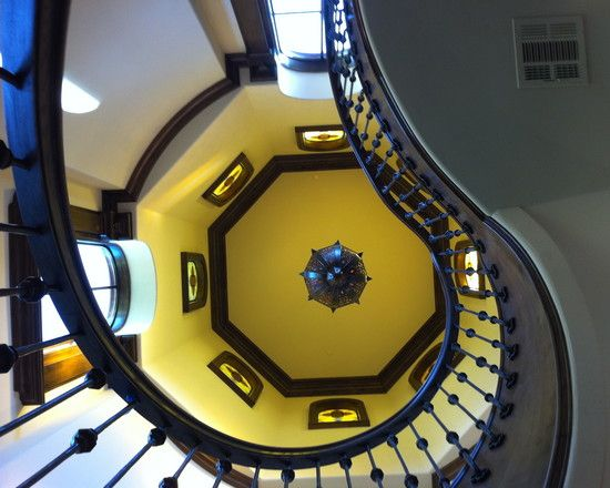 Beautiful Spanish Colonial Home Design: Beautiful Spiral Staircase Kaleidoscope Of Homes Winner Design Ideas