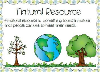 Natural Resources Vs Man Made Posters Natural Resources Activities Natural Resources Primary Science