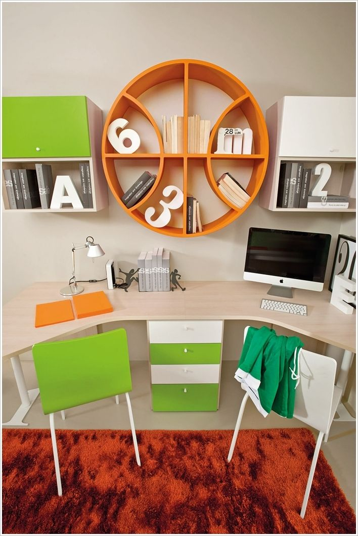 15 creative and cool kids bedroom furniture designs - Clever furniture for small bedrooms ...