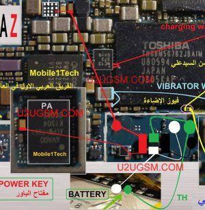 Sony Xperia Z C6602 Battery Connector Terminal Jumper Ways Sony Xperia Iphone Repair Screen Repair