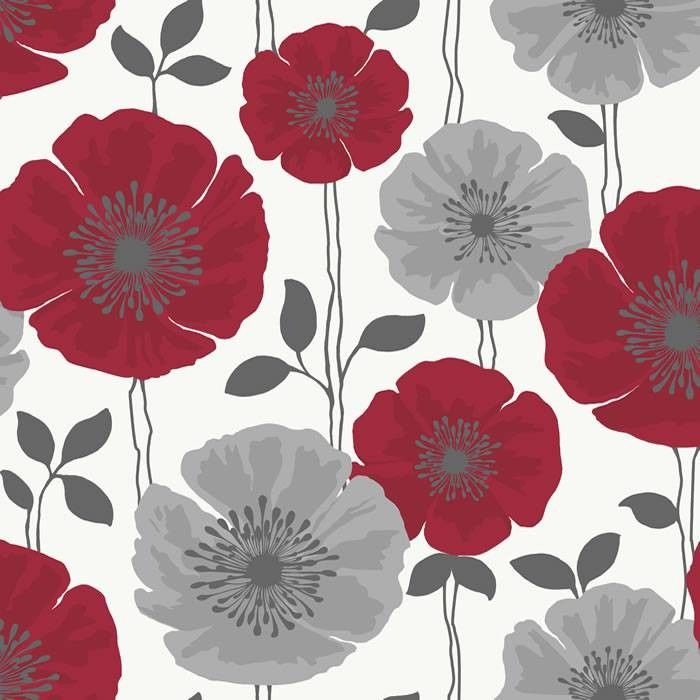 Red and grey flower wallpaper google search art pinterest red and grey flower wallpaper google search mightylinksfo