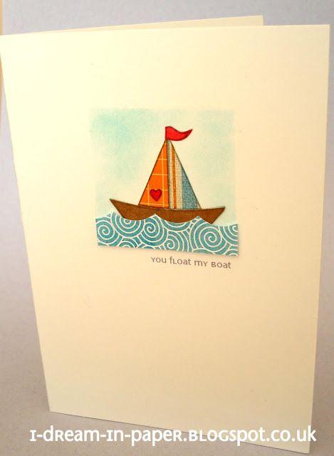 I Dream in Paper - love the boat