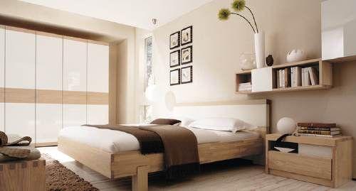Imagen dormitorio con muebles de madera Bedrooms dormitorios
