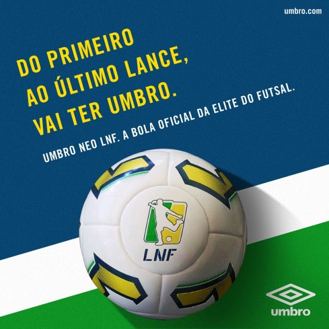 d5b5b81c99960 Umbro é a nova patrocinadora da Liga Nacional de Futsal