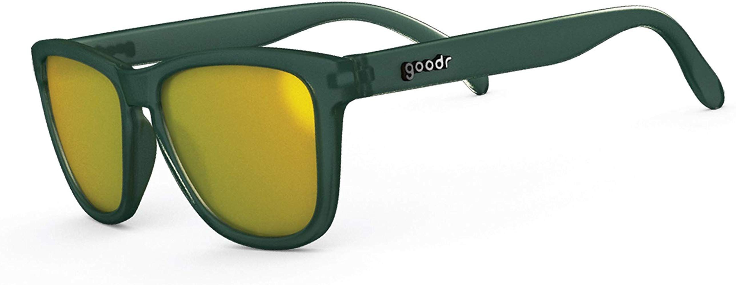no slip, no bounce, all polarized goodr OG Sunglasses