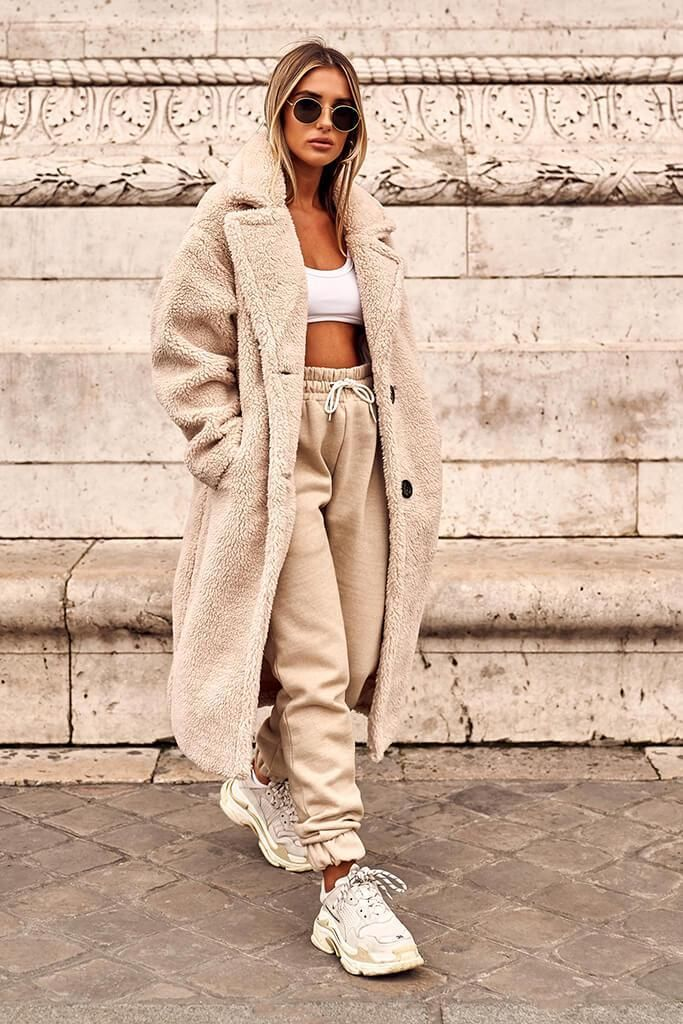 Sand Tie Front Joggers
