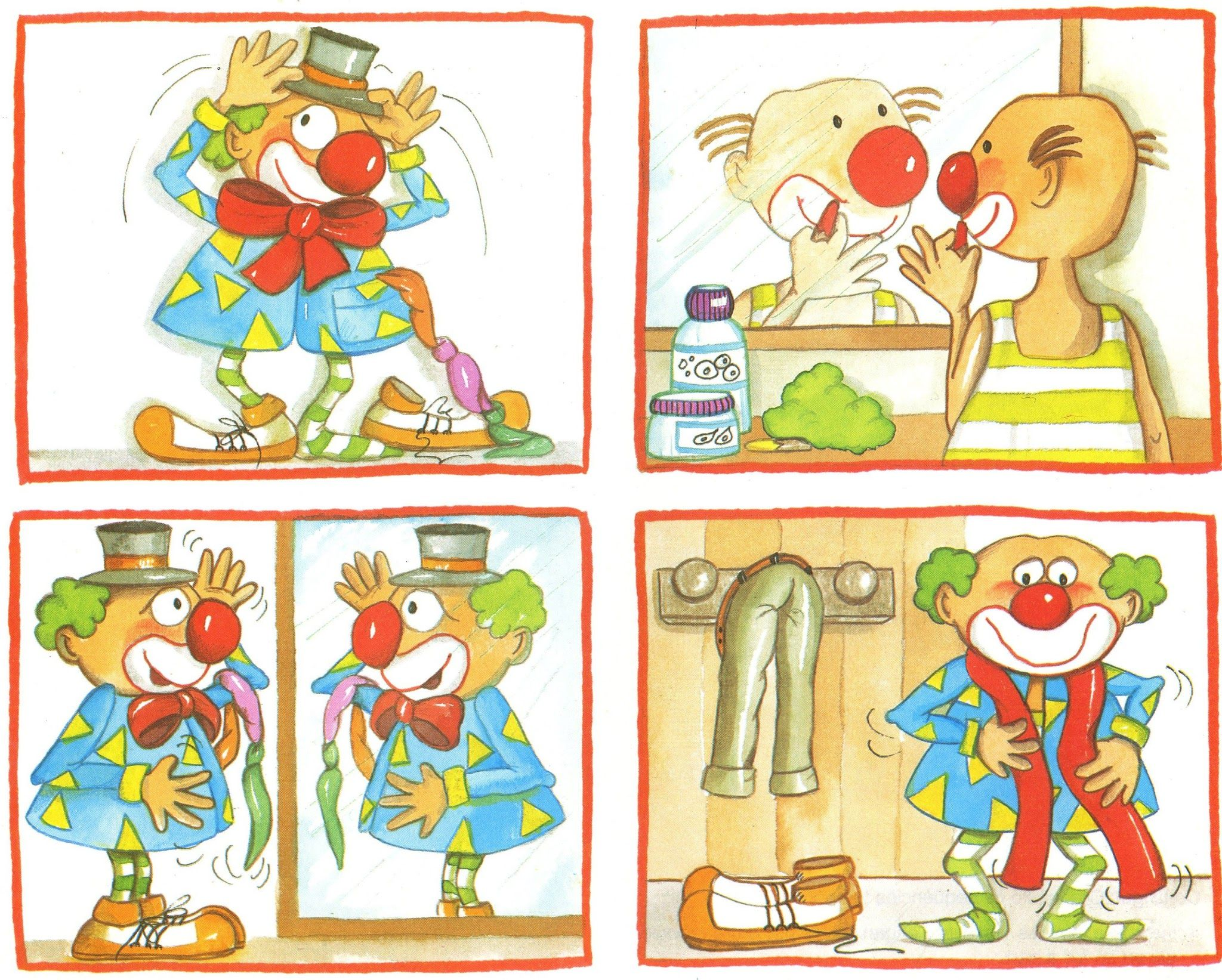 Images Sequentiel Clown
