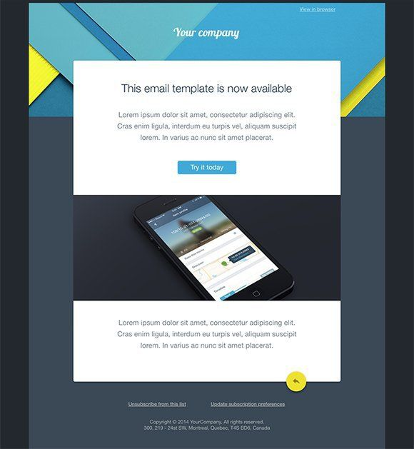 Awesome Free Email Templates To Download Free Email Templates - Email campaign templates free download