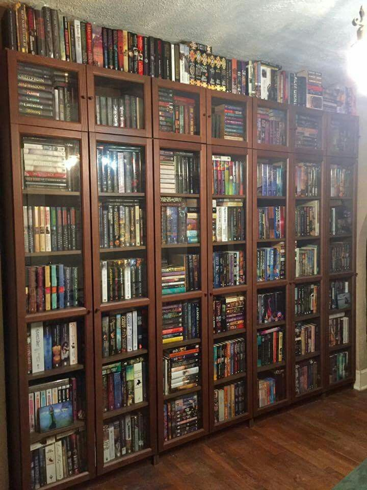 Closed Bookshelves
