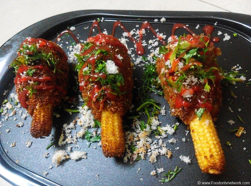 Veggie corn lollipop recipe veg lollipop indian snacks veggie corn lollipop is one of the best vegetarian fast food recipe which is very easy to make as well as delicious in taste too forumfinder Image collections