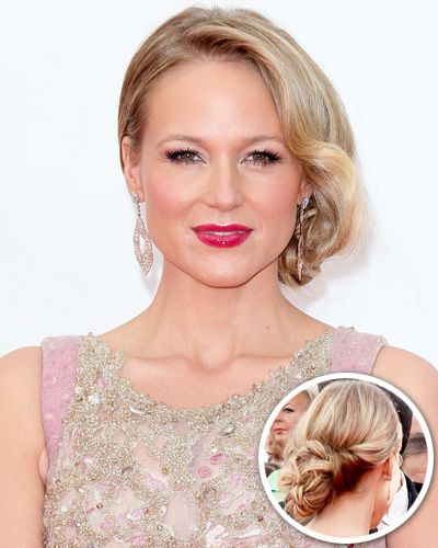 Jewel, 2013- Soft waves added a touch of Old Hollywood glam to the singer's low, side-parted chignon.