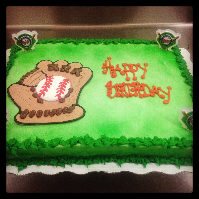 Baseball birthday cake   Baseball birthday cakes, Sport ...