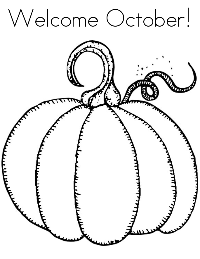 October Coloring Pages Best Coloring Pages For Kids Pumpkin Coloring Pages Fall Coloring Pages Pumpkin Printable