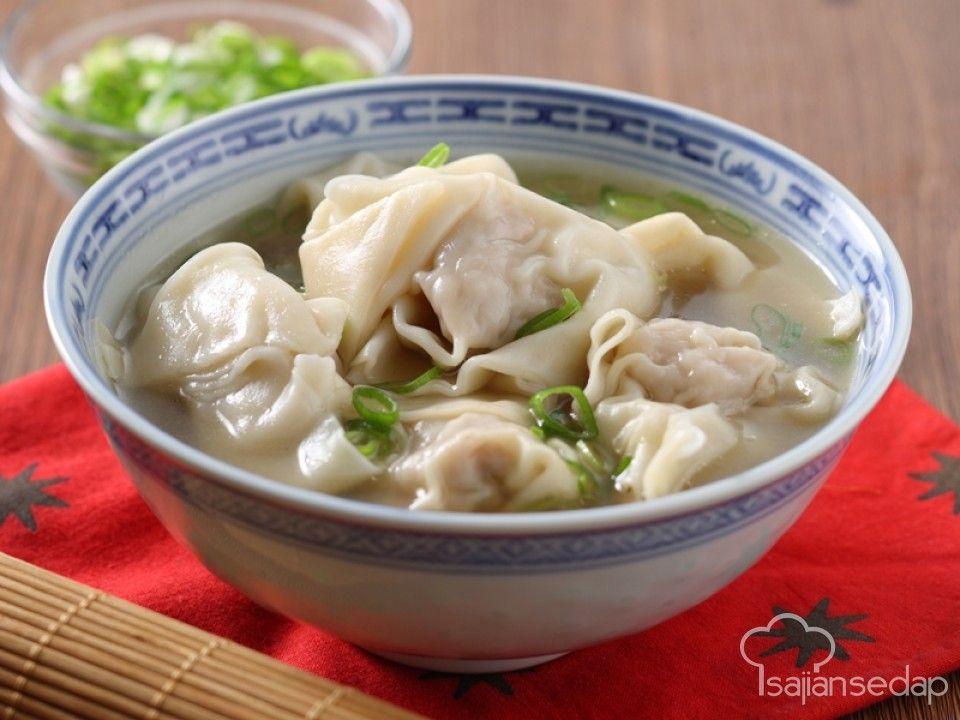 Sup Segar Yang Biasanya Ada Di Resto Chinese Food Ternyata Bisa Kita Buat Di Rumah Lho Kehangatan Wonton Soup Ini Bisa Melawa Dengan Gambar Wonton Resep Ayam Resep Makanan
