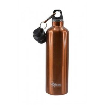 Cheeki Insulated Stainless Steel Drink Bottles (600ml) BPA-Free - Copper colour
