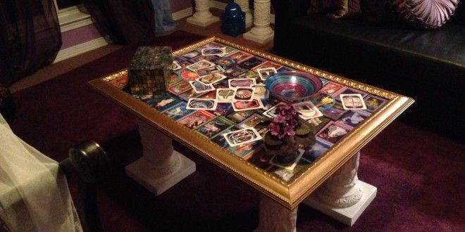 Build A One Of A Kind Tarot Table Cheap Diy Tarot Cards Tarot Tarot Cards For Beginners