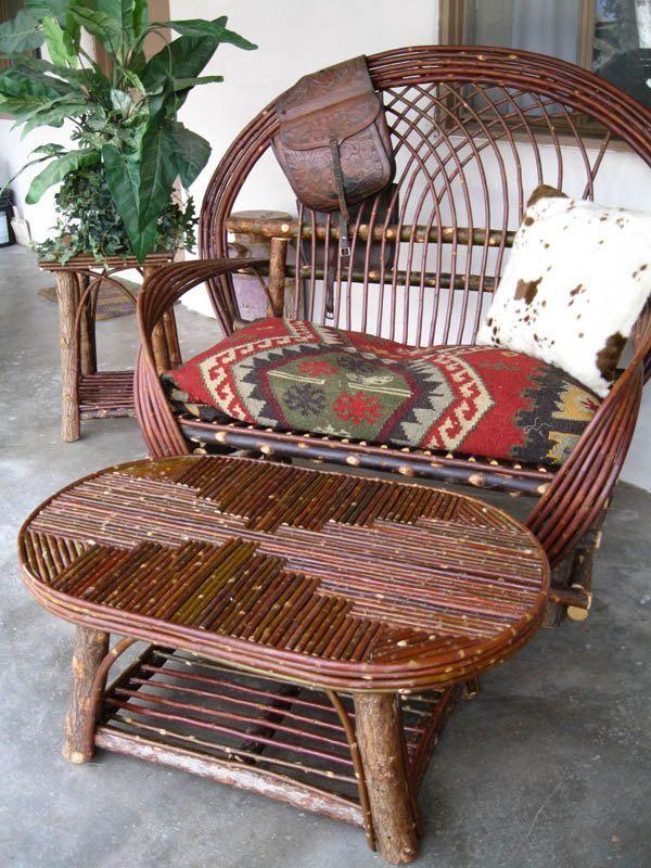 Twig furniture #twigfurniture Twig furniture #twigfurniture