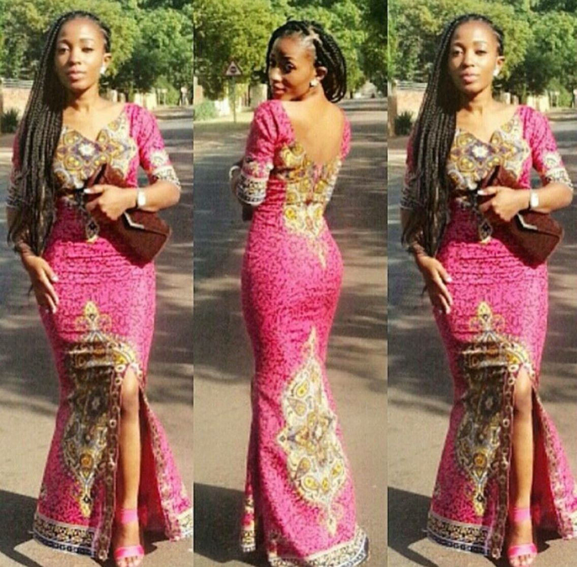 Mind Beauty And Fashion World Beautiful Ankara Long Gown Asoebi Style For Elegan
