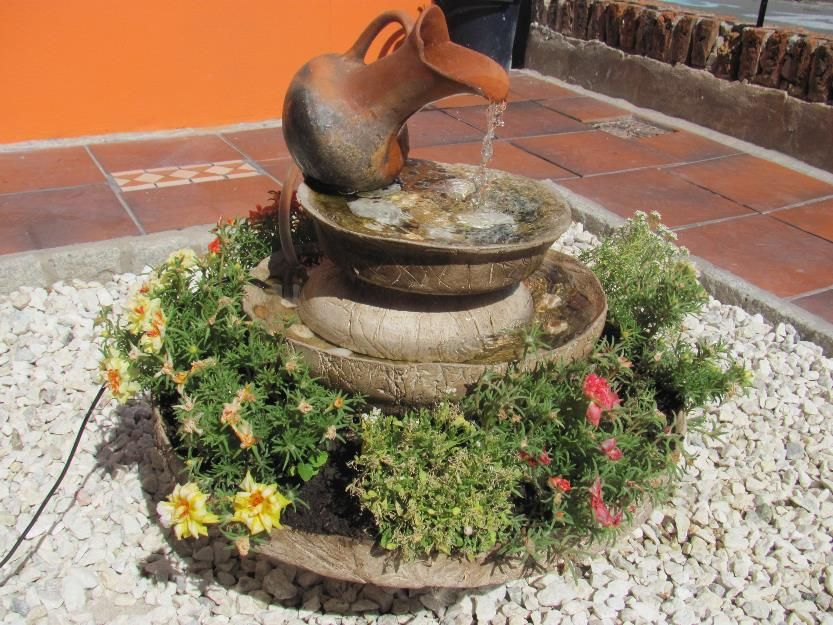 cascadas de piedra para jardin - Pesquisa Google \u2026 Pinteres\u2026