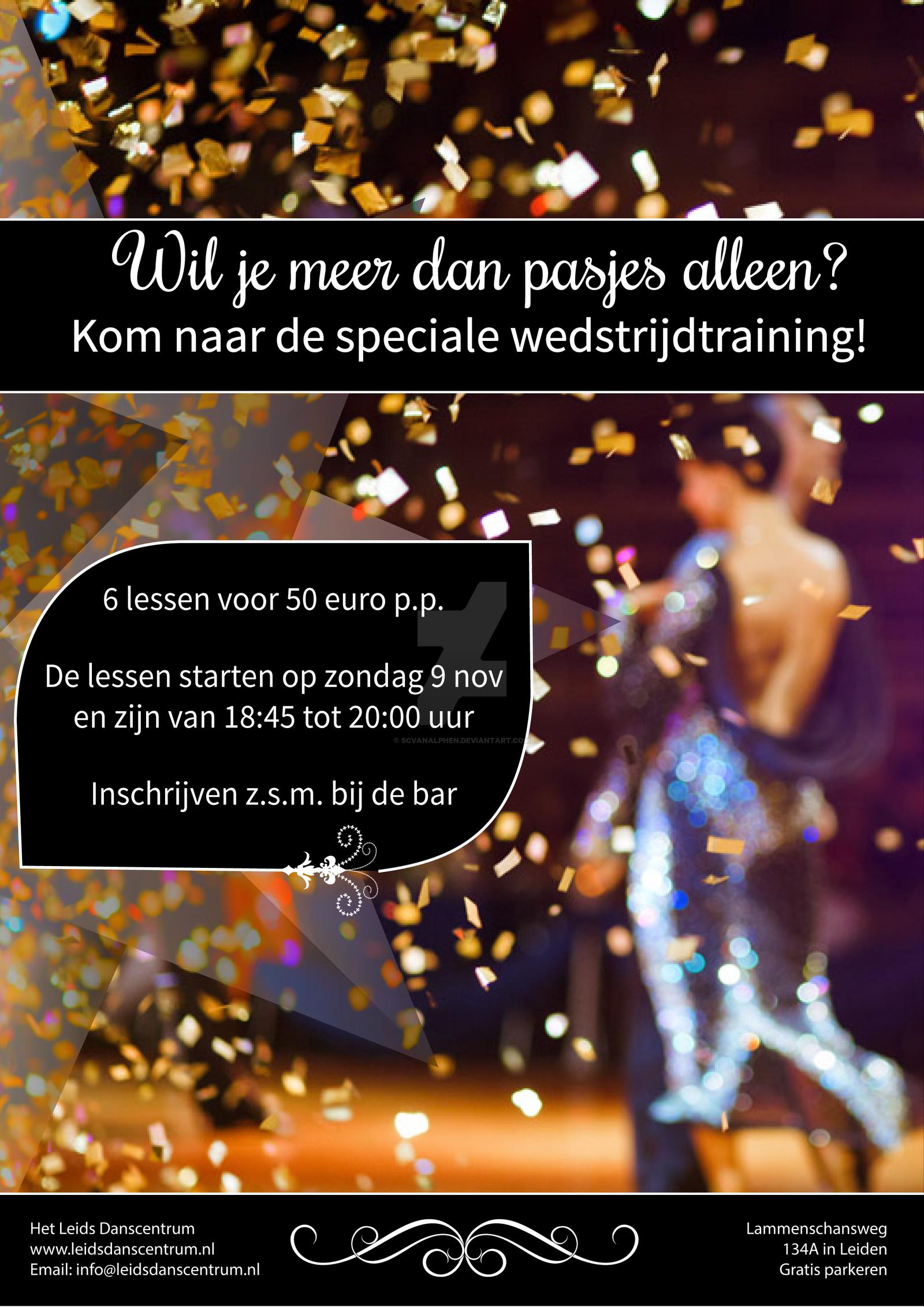 Dance class promotion poster by SCvanAlphen.deviantart.com on @DeviantArt