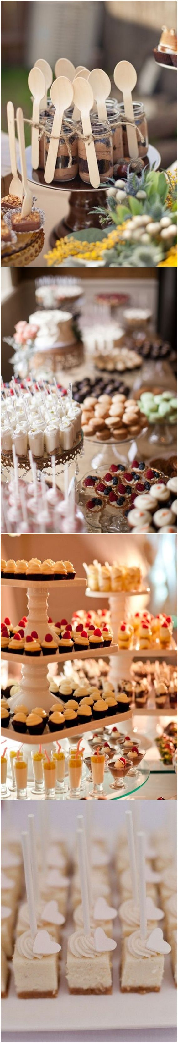 Top 20 Wedding Mini Desserts for 2018