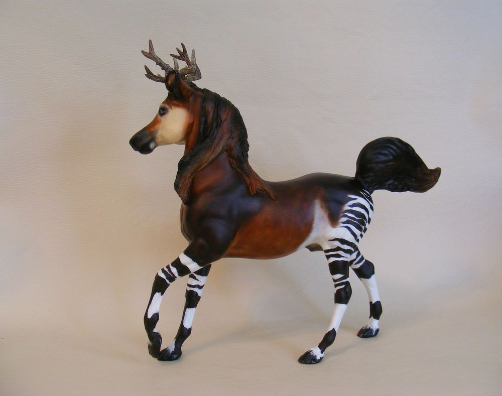 Breyer Custom/Cm OOAK the rare & endangered